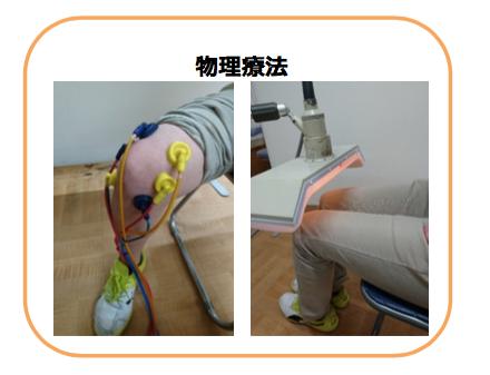 変形性膝関節症 物理療法